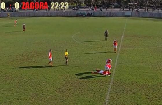 Županija − NOGOMETNA UTAKMICA Igrač se srušio na Korčuli, nije bilo Hitne? (FOTO/VIDEO)