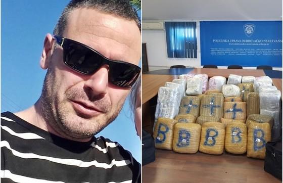 Crna kronika − DOZNAJEMO! Ovo je vozač autobusa koji je preko Karasovića pokušao prenijeti 342 kilograma marihuane