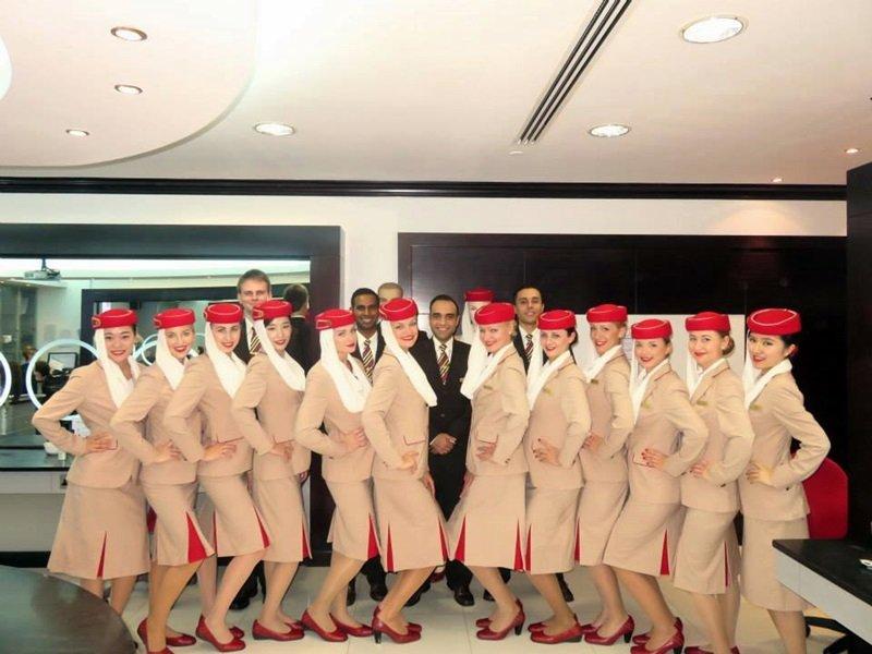 upoznavanje s stjuardesa