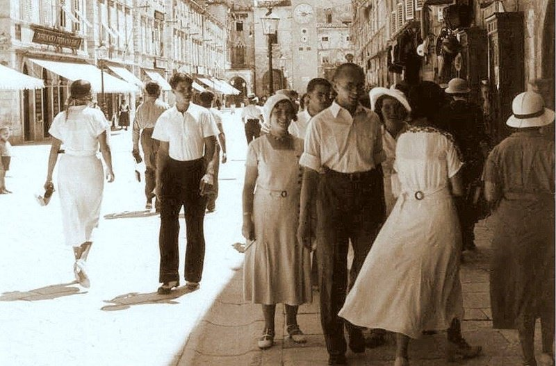 Historical images of Dubrovnik